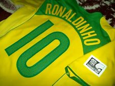 Jersey Brazil Nike Ronaldinho 2005 (2XL) Total 90 vintage confederations cup