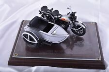 1933 Harley Davidson Silver Ultra Edition Motorcycle & Sidecar Bank #1401 / 3000