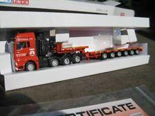 TEMA-Toys WSI 1:87 Werbemodell Hüffermann MAN 4-Achser mit Auflieger OVP