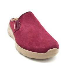Skechers On The Go Joy Womens Snuggly Lined Clogs US Size 6W Burgundy New