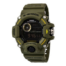 Reloj Para hombres Casio G-shock Negro Correa de resina de Oliva DIAL DIGITAL CRONO GW9400-3