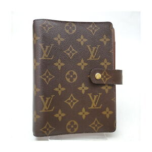 Louis Vuitton LV Diary Cover Agenda MM Browns Monogram 2200013