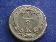 1/2 Kreuzer oJ Wien Franz Stefan -  W/20/376