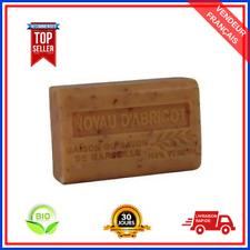 Savon De Marseille Abricot Au Beurre De Karité Pure Bio 100% Naturel De 125 gr