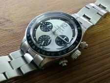 chronotac chronograph daytona hand wind up mechanical watch T19 paul Newman dial