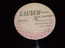 "Final Fantasy-UK 3-track 12"" vinyl single"