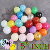"10-50 Quality 5"" INCH Small Round Latex Balloons Choose Colour 13 Latex balloon"