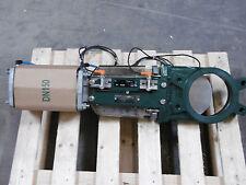 Tecofi Plattenschieber/Stoffschieber pneumatisch DN 150 /M20/Einbaubreite 60mm