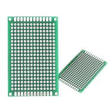 Lantee 50 Pcs Double Sided Protoboard Pcb Prototype Printed Circuit Board 4x6cm