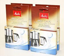 4 Packs Melitta Anti Calc Descaler for Kettles/Coffee Machines, MEL6545475 X 4