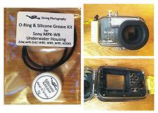 Joint torique & Kit graisse de silicone pour Sony mpk-wb plongée sous-marine boîtier