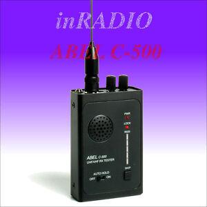 ABEL C-500 - le récepteur  - detecteur d'espion - chasseur de bugs micro