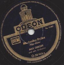 Max Greger mit seinem Orchester : Marianka-Polka + Barbara Polka