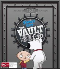 Family Guy : Season 1-10 (DVD, 2011, 28-Disc Set)