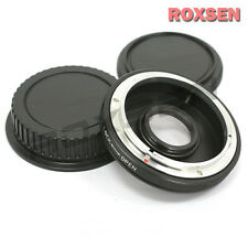 With Glass Focus Infinity Mount Adapter Ring FOR Canon FD Lens to Canon EOS EF