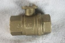 "Brass ball valve CW510, RPTFE seals, 1""NPT"