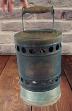 """Ancien chauffe batterie catalyseur en tole """"catalysor volix"""" 1920.Auto Camion"""