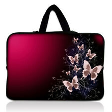 """15.6"""" Pink Butterfly Laptop Sleeve Case Bag Cover for HP Asus Lenovo Acer Dell"""