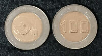 ALGERIA 100 DINAR SATELLITE 2018 2019 BI-METALLIC COIN UNC
