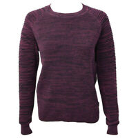 G-STAR RAW Women's Maroon Suzaki Knit L/S Pull Over Sweater (Retail $120) XS