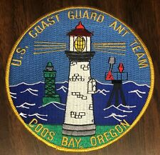 P424   U.S. COAST GUARD    PATCH,  COOS BAY,  OR.