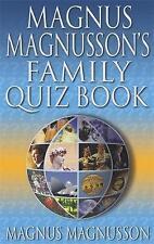 Magnus Magnusson's Family Quiz Book, Magnus Magnusson, Very Good condition, Book