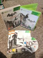 Batman Arkham City - Xbox 360 Game - MANUAL & LENTICULAR SLEEVE - Free P&P!