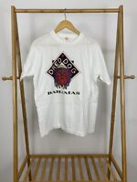 VTG Dred Dog Bahamas Single Stitch White Thin Short Sleeve T-Shirt Size XL