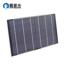 10w 18V Solar Panel Portable Polycrystalline Cells for Boat 12V Battery Charging
