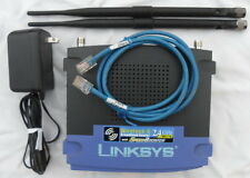 Linksys WRT54GS MEGA with 7dbi DD-WRT Wireless Repeater Bridge Range extender