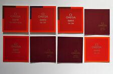 Vintage Omega Watch Manuals Job Lot