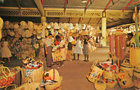 R281097 H6. Straw Section of Victoria Crafts Market in Kingston. Jamaica. Hannau