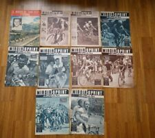 10x MIROIR SPRINT Special TOUR DE FRANCE 1956 Cyclisme