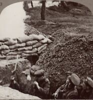 """Clearing Up The Captured Trenches is Made Hazardous by Enemy """"Booby Traps"""""""