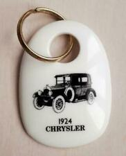 1924 Chrysler Canada Keychain, Royal Doulton Commemorative 1988 Vintage