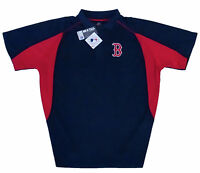 Boston Red Sox MLB Majestic Men's Navy Golf Polo Shirt Big & Tall Sizes