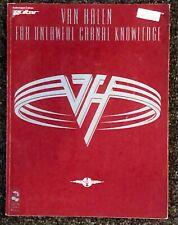 """VAN HALEN """"FOR UNLAWFUL CARNAL KNOWLEDGE"""" Guitar Tab Sheet Music Songbook 1991"""