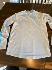 Shimano Bass technical shirt short sleeve medium tee Gray Fishing Shirt