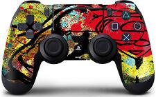 Superman Color Splatter Sony PlayStation 4 / PS4 DualShock4 Controller Skin