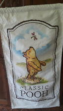 Classic Winnie-The-Pooh double sided canvas Banner 23 inches wide 44 inch long