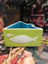 Green Modfish Tiki Bowl Mid Century Mug Designed by Ken Ruzic & Tiki farm