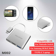 Melopow M002 HDMI USB3.1 Type-C Adapter Converter Cable For Nintendo Switch