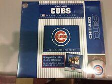 "Chicago Cubs Large Scrapbook 12"" X 12"""