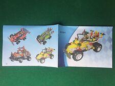 (Q3) LEGO TECHNIC 821001 CATALOGO MONTAGGIO AUTO Brochure Prospekt KATALOG