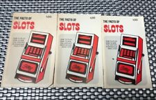 3 The Facts of Slots by Walter Nolan 1970 Gambler book club