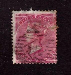 Great Britain stamp #22, used, wmk. 21, bluish paper, repaired tear, SCV $440.00