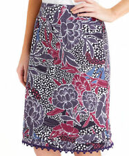 Knee Length Straight, Pencil Casual Floral Skirts for Women