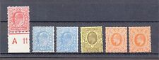KEDVII sg 282/283X2/284/285/286 Harrison and sons printing all Mounted mint
