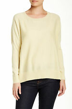 NWT $228 Eileen Fisher BOXY BOATNECK PULLOVER SWEATER DAISY,sz.XS