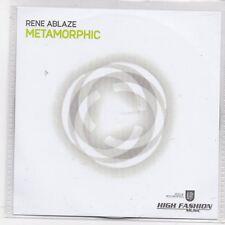 Rene Ablaze-Metamorphic promo cd single